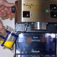 Add steam to eggs