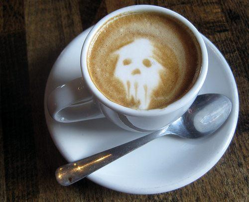 skull latte
