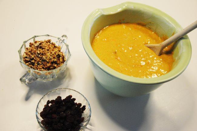 Espresso Carrot Cake Mixed
