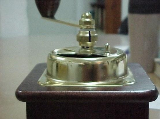 close up grinder