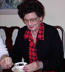 Margaret reading
