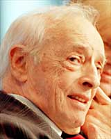 Saul Bellow Interview Photo