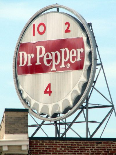 Dr. Pepper 10-2-4 Vintage Sign
