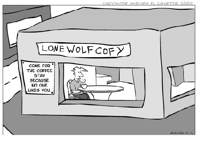 Lone Wolf Cofy Comic
