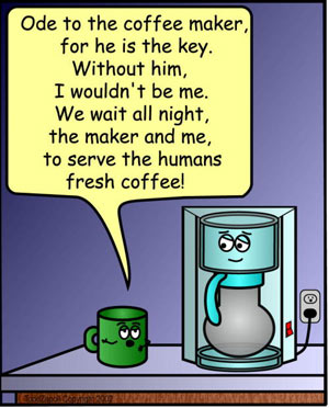 ode to coffee maker