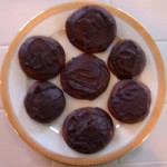 Chocolate Espresso Cookies and Viennese Coffee