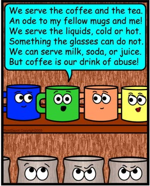 ode to fellow mugs