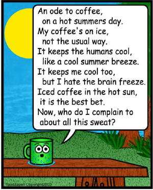ode to iced coffee