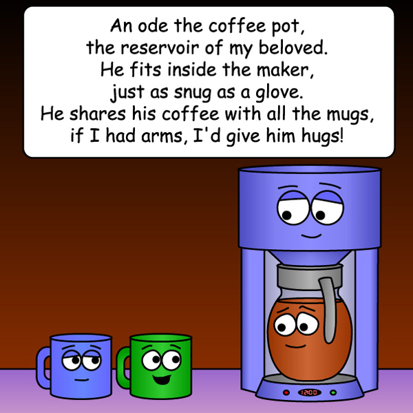 Ode to Coffee Pot