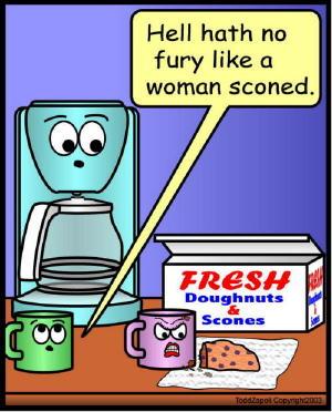 comic sconed