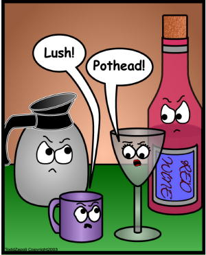 comic lush pothead