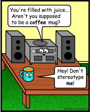 comic stereotype