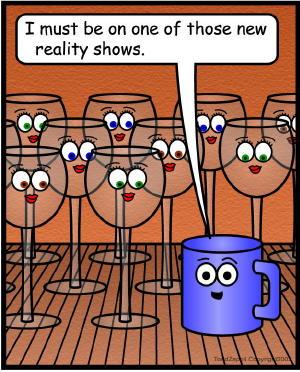 comic reality show