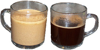 urkish Coffee - With and Without Milk
