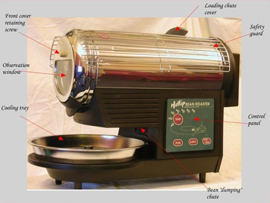 Detailed View Of Hottop Coffee Roaster
