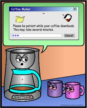 downloading coffee