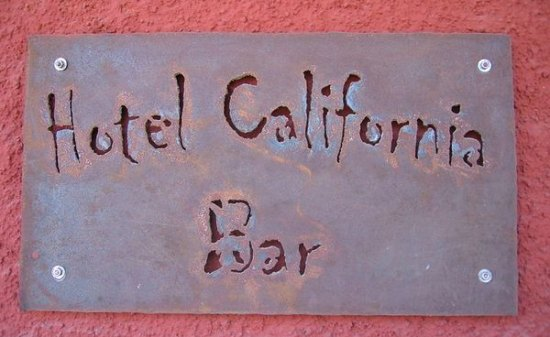 Hotel California Bar