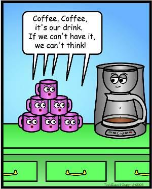 comic coffee chant