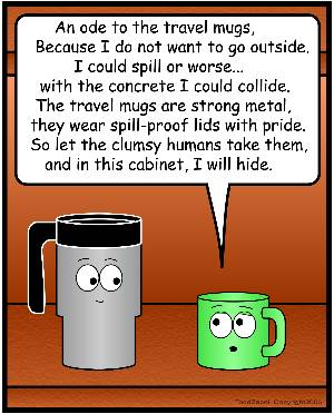 ode to travel mugs