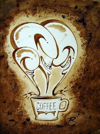 Three Cup - Coffee artwork
