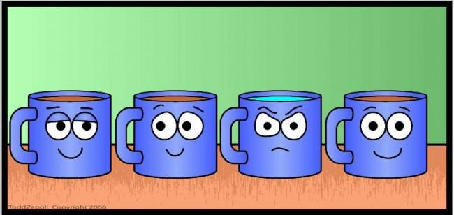 angry water mug