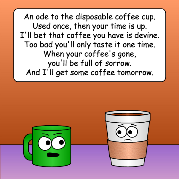 Ode to a Disposable Cup