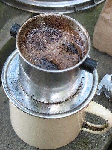 vietnamese coffee prep
