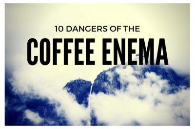 health risks for coffee enema