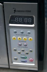 Behmor control panel