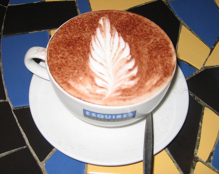 latte art esquires