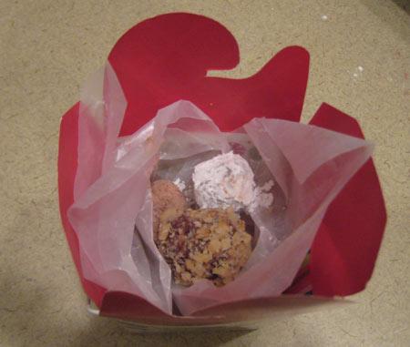 Rum ball gift box