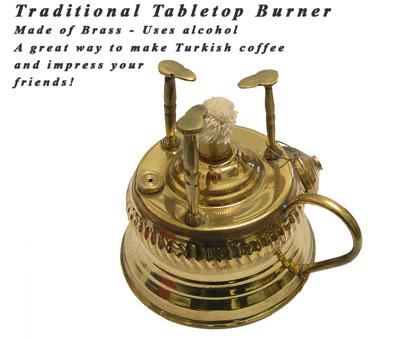 Traditional Tabletop Burner