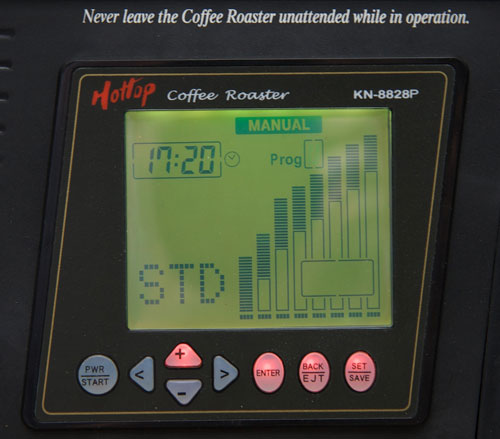 Hottop Color LCD Control Panel and Button