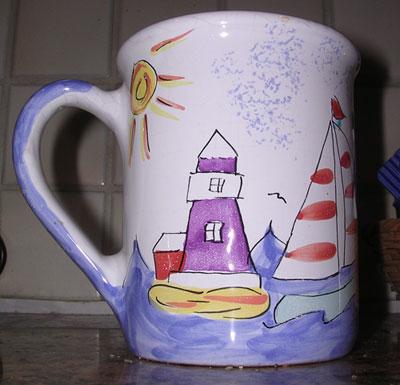alex scofield mug