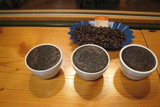 Coffee Cupping at Stumptown