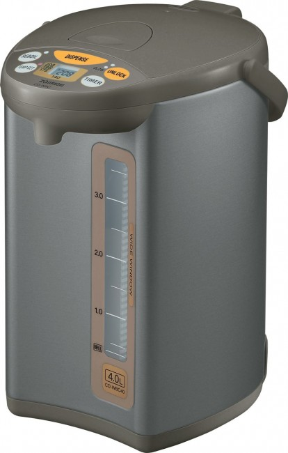 Zojirushi CD-WBC40-TS Micom 4-Liter Water Boiler and Warmer