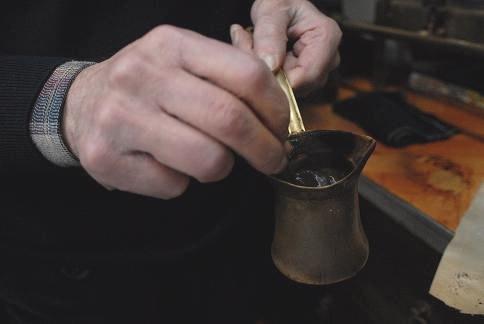 Add Turkish Coffee