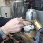 Preparing a Traditional Turkish Coffee