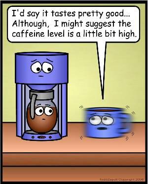 High Caffeine Content