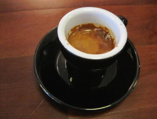 Espresso at Neptune Coffee