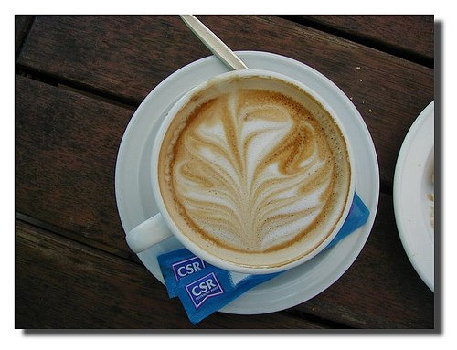 Latte Art by Ian Balchin
