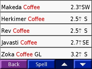 coffee GPS