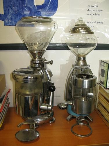 2 coffee grinders