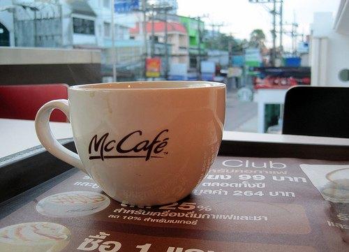 McCafe in Thailand