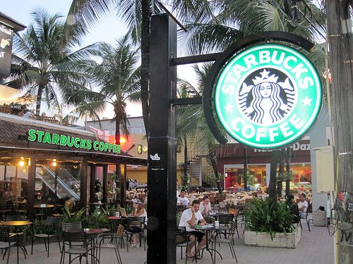 Starbucks - Phuket, Thailand