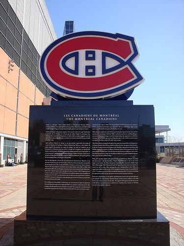 Montreal Canadiens Statue