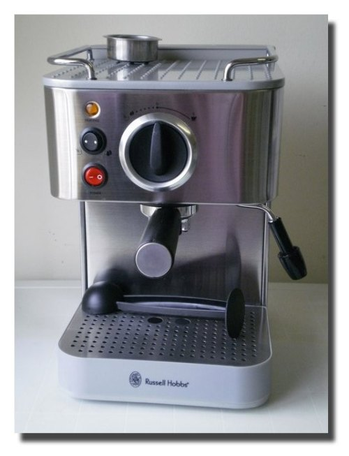 Ian Wins a Russell Hobbs Espresso Machine
