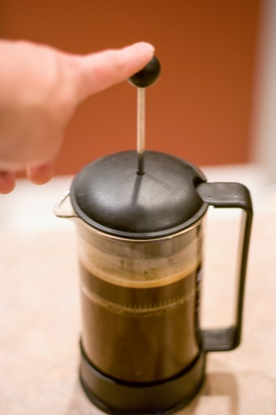 Coffee Brewing in the French Press