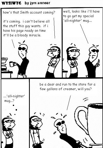 WYSIWYG – Coffee Comics #1