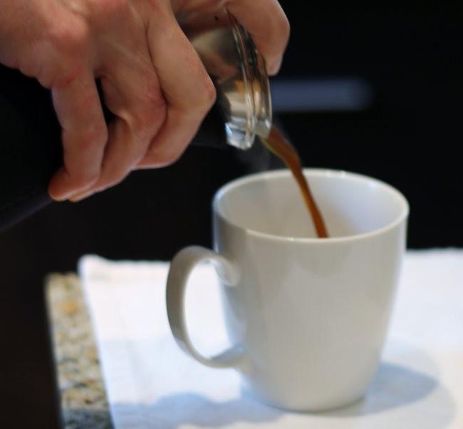 Pour Eva Solo Coffee